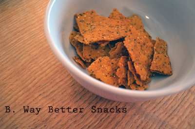 Sweet Potato Tortilla Chips With Cinnamon & Agave