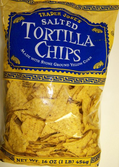 Tortilla Chips, Corn, Stone Ground