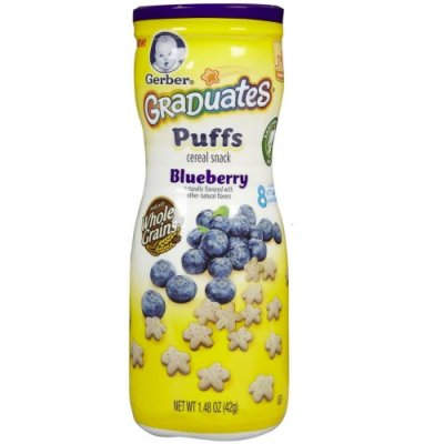 Blueberry Puffs Cereal Snack