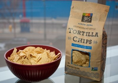 Lightly Salted Restaurant Style White Corn Tortilla Chips