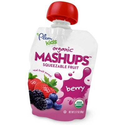 Mashups Berry Flavor Squeezable Fruit