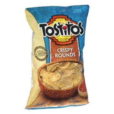 Tortilla Chips, Crispy Rounds