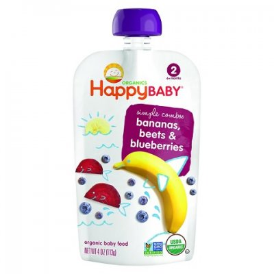 Banana, Beet & Blueberry Baby Food