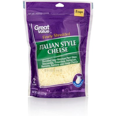 Finely Shredded Italian Style Cheese