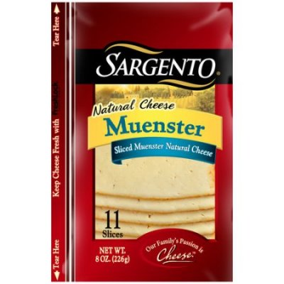Sliced Muenster Natural Cheese