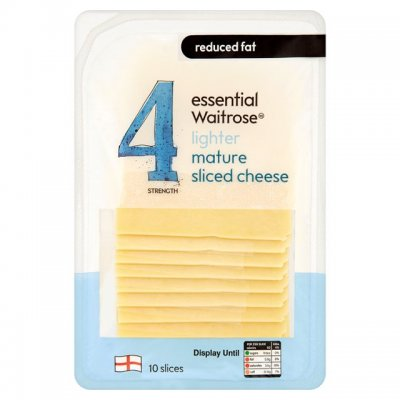Cheese, Deli Thin Slices, Medium Cheddar,