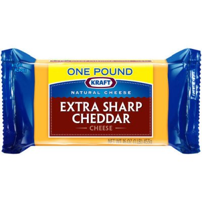 Cheese, Extra Sharp Cheddar, Snack Bar