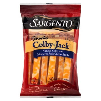 Cheese Sticks, Colby Jack