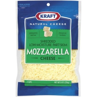 Low Moisture Part Skim Mozzarella  Shredded Cheese