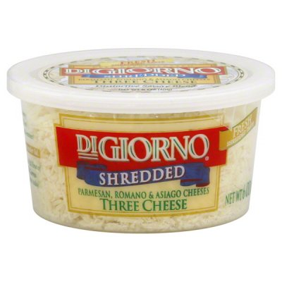 Cheese Blends, Freshly Shredded, Parmesan & Romano