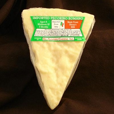 Grated Pecorino Romano, 100% Pure Italian Sheep's Milk Cheese