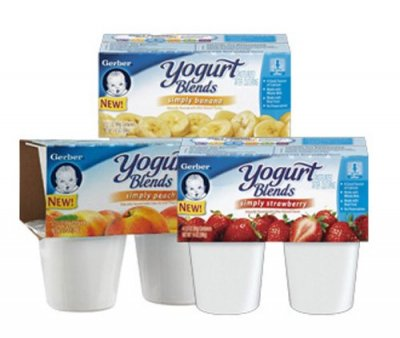 Yogurt Blends, Simply Peach