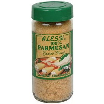 100% Parmesan Grated Cheese, Italian Style