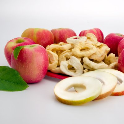 Apple, Slices, (Dried, Fruit)