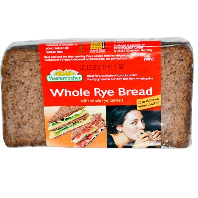 Bread, Natural Whole Rye