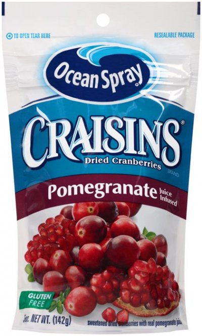 Craisins Dried Cranberries (Pomegranate Juice Infused)