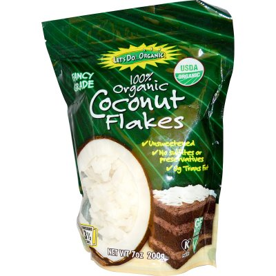Dried Coconut, Organic
