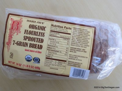 Organic Flourless Sprouted 7-Grain Bread