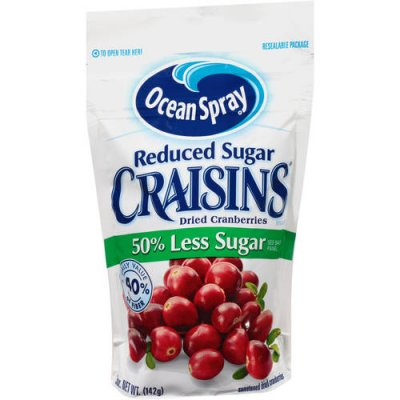 Reduced Sugar Whole Dried Cranberries