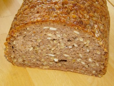 Sprouted Organic Ancient Grains, Bread
