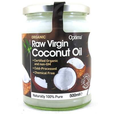 Organic Virgin Coconut Oil, Unrefined