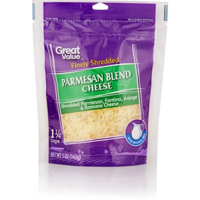 Finely Shredded Parmesan Blend Cheese