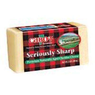 Seriously Sharp White Cheddar