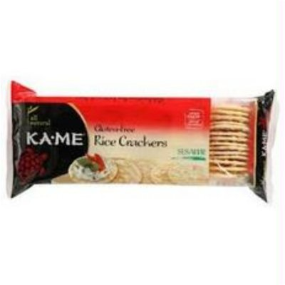 Sesame Rice Crackers