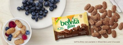 Breakfast Belvita Bites, Mixed Berry