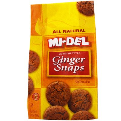 Swedish Style Ginger Snaps