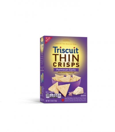 Triscuit Thin Crisps, Parmesan Garlic