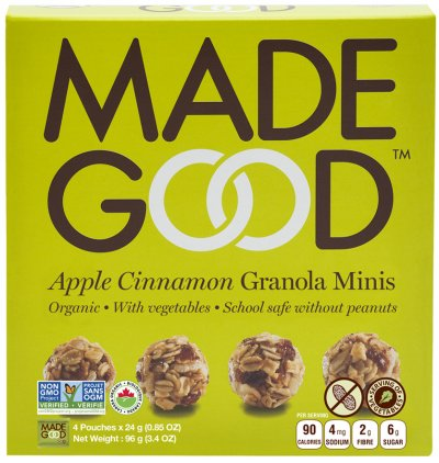 Chocolate Chip Granola Minis