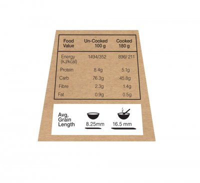 Parboiled Rice, Long Grain Enriched