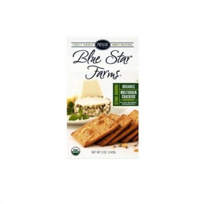 Blue Star Farms, Organic Multigrain Crackers