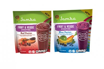 Fruit And Veggie Smoothies, Blue Fusion