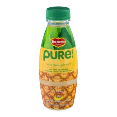 100% Juice, Pure Pineapple