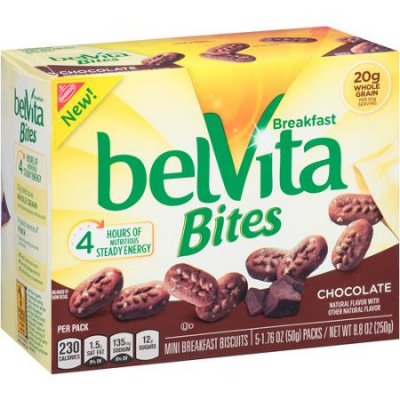 Belvita Bites, Mini Breakfast Biscuits, Chocolate