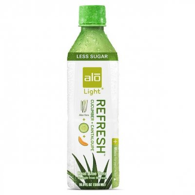 Light, Refresh, Real aloe vera