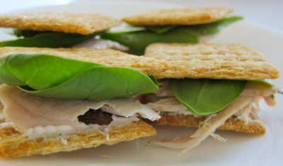 Whole Grain Cracker Sandwiches