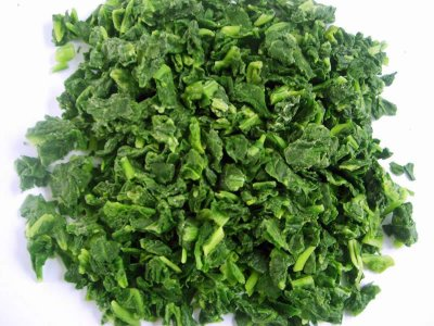 Chopped Spinach, Organic
