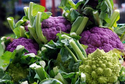 Organic, Cauliflower, Purple