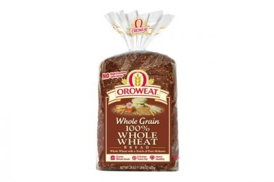 100% Integral Whole Wheat Bread