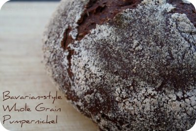 100% Whole Grain Pumpernickel Bread