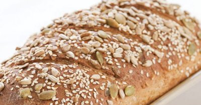 Daily Bread Sprouted Wheat Berry & Sesame Seeds