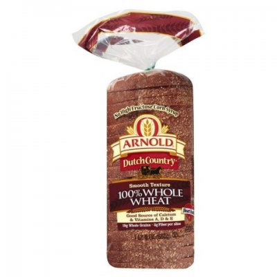 Dutch Country/Italian Bread 100% Whole Wheat