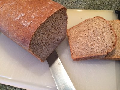 Sprouted Grain Bread, Flax