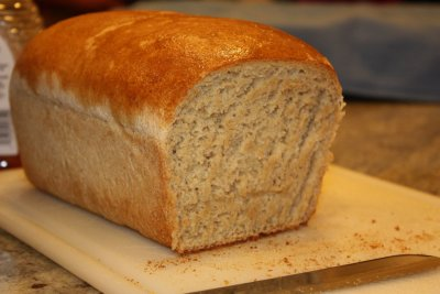 Whole Wheat & Honey Bread
