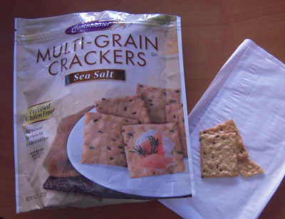 Multi Grain Baked Crackers