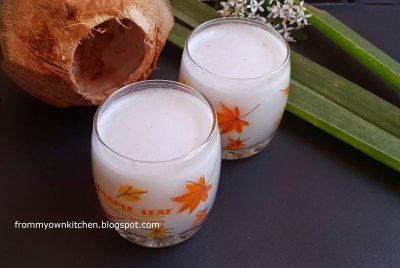 All Natural coconut Juice With Pulp