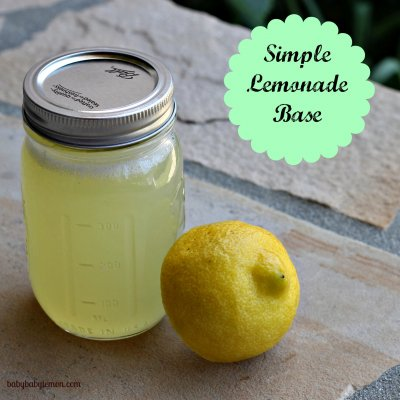 Peppermint Lemonade Juice